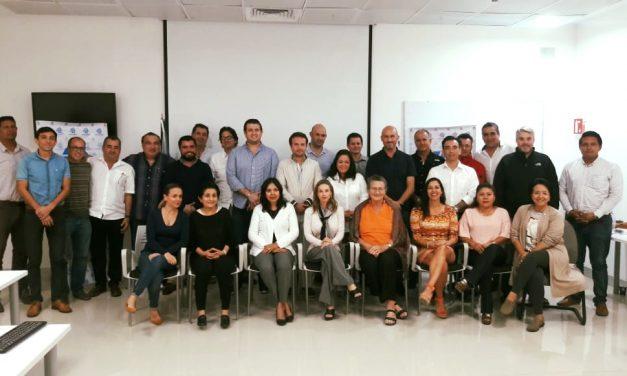 Reunión con Presidente Municipal de Cozumel