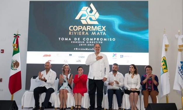 Toma de Compromiso de la Delegación Riviera Maya