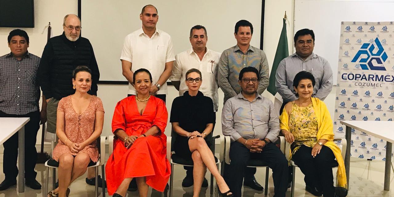 Reunión con el Presidente del Sistema Anticorrupción del Estado de Quintana, Roo.