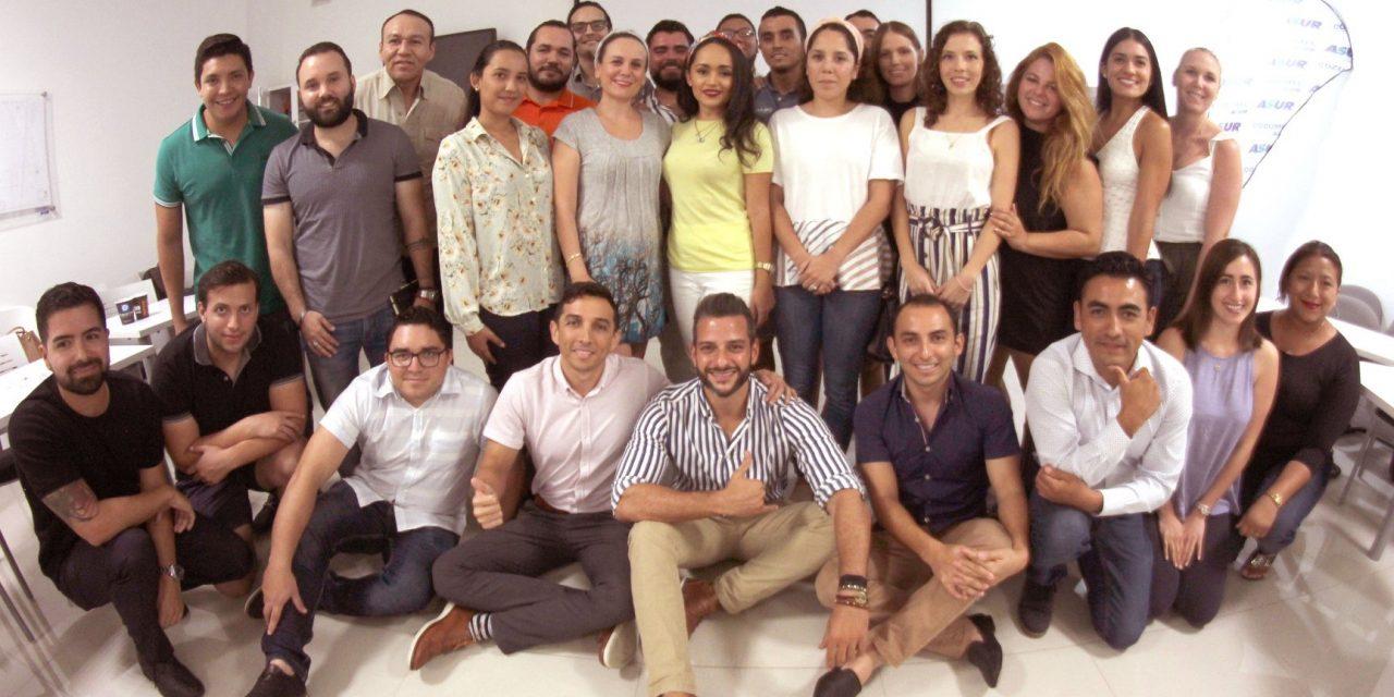 Jóvenes empresarios COPARMEX Cozumel se suman al congreso PyMES 2019