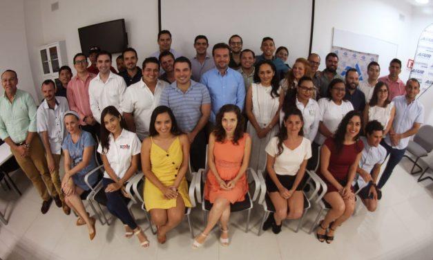 Segunda Sesión de la Comisión de Empresarios Jóvenes con invitados de honor.