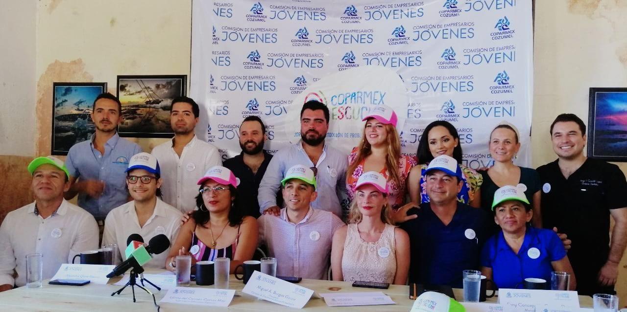 """Conferencia prensa """"COPARMEX Escucha"""""""